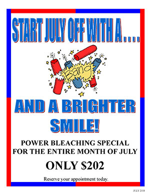 July Bleaching Special