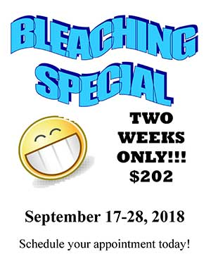 September Bleaching Special